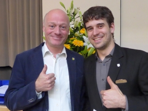 Wahlcenter 2016-04-10, Stefan Leuthold und Lucas Orellano