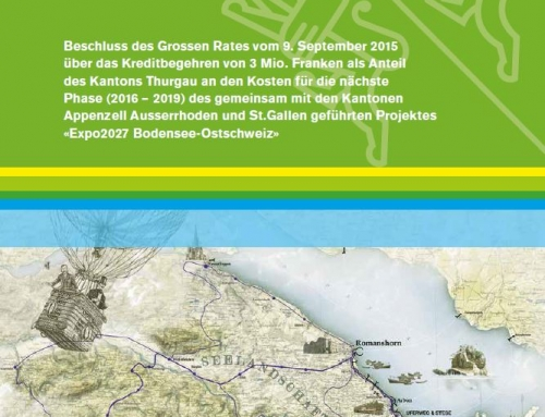 Grundsatzentscheid zur Expo2027 – Grosse Feste feiern ist nicht Staatsaufgabe!