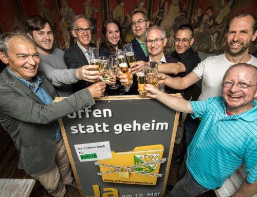 Der klare Wunsch des Thurgauer Volkes für mehr Transparenz