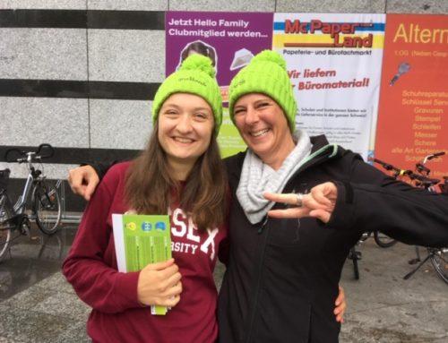Wahlkampf auf der Strasse in Amriswil und Kreuzlingen