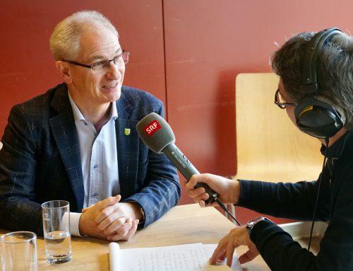 Live-Interview Radio SRF Regionaljournal Ostschweiz