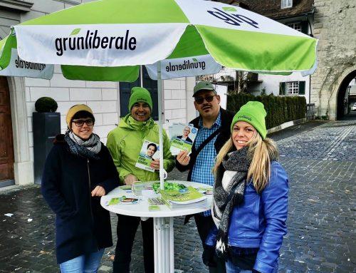 glp Standaktionen in Bischofszell und Weinfelden