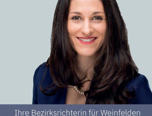 Martina Notargiacomo: Mit Frauenpower ans Bezirksgericht Weinfelden!